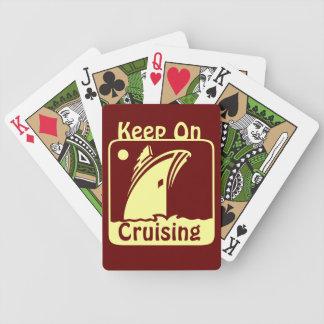 Keep Cruising Bicycle Playing Cards