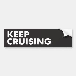 Keep Cruising Bumper Sticker