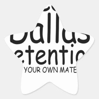 Keep Dallas Pretentious N.png Star Sticker