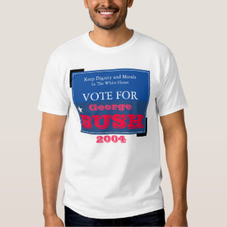 Keep Dignity and Morals in the White House T Shirt