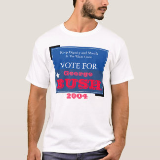 Keep Dignity and Morals in the White House T-Shirt