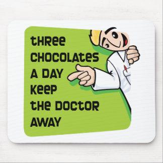 Keep Doctor Away Mouse Pad