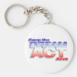 Keep DREAM Act Alive Keychain