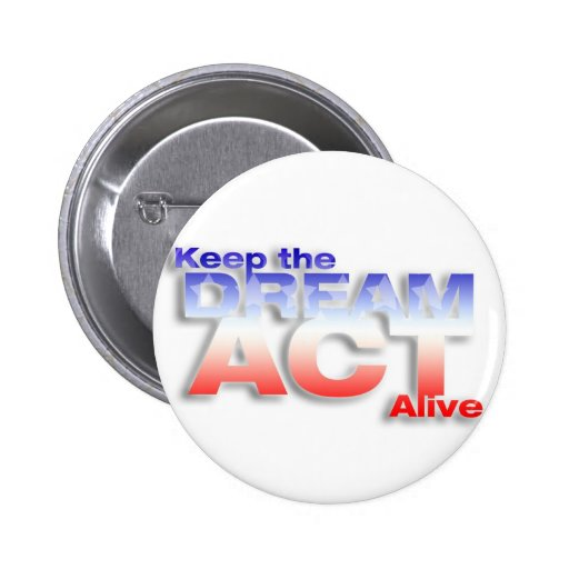 Keep DREAM Act Alive Pinback Button