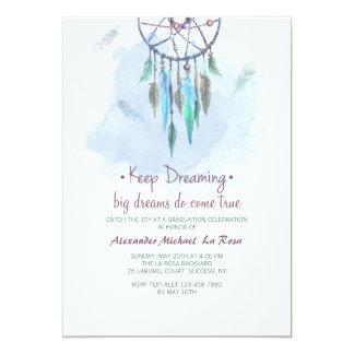 Keep Dreaming Graduation Invitation