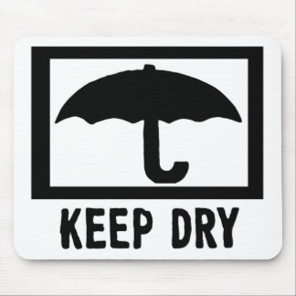Keep Dry Mouse Pad