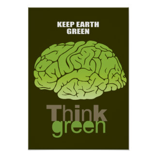 KEEP EARTH GREEN POSTER
