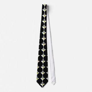 Keep 'Em Coming Martini Tie (black)