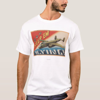 Keep 'Em Flying/B-25 Medium Bomber (Airplane) T-Shirt