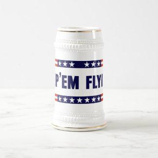 Keep 'Em Flying! Beer Stein