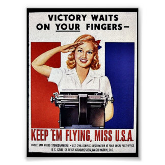 Keep 'Em Flying, Miss U.S.A Poster