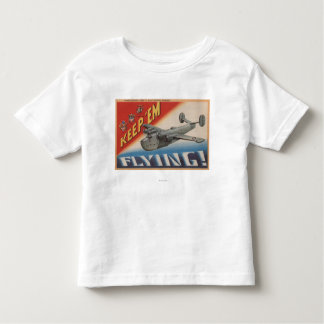 Keep 'Em Flying/PB2Y-2 Toddler T-shirt