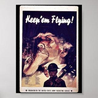 Keep 'Em Flying Print