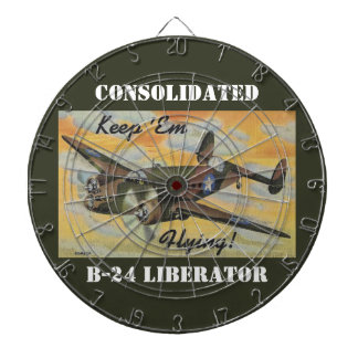 Keep 'Em Flying! World War II Twin Engine Bomber Dart Board