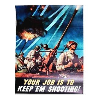 Keep Em Shooting Flyers