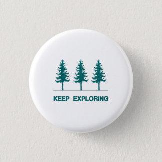 Keep Exploring - Blue Button