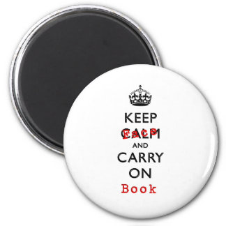 KEEP FACE 2 INCH ROUND MAGNET