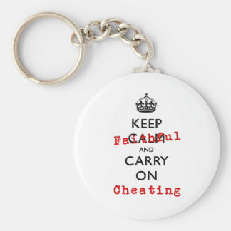 KEEP FAITHFUL KEYCHAIN