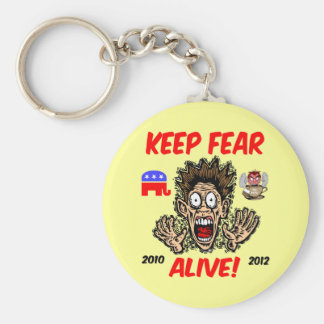 Keep fear alive keychain