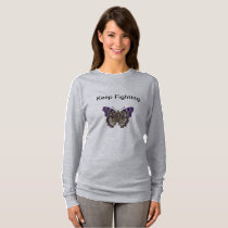Keep Fighting Fibromyalgia Shirt For Women
