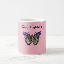 Keep Fighting Fibromyalgia Warrior Coffee Mug