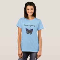Keep Fighting Fibromyalgia Warrior TShirt