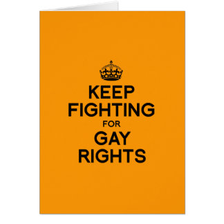 KEEP FIGHTING FOR GAY RIGHTS - Halloween -.png Card