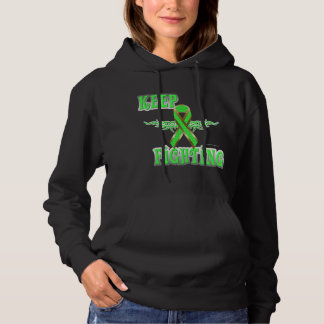 Keep Fighting Lymphoma Ladies Hoodie