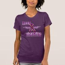 Keep Fighting Pancreatic Cancer Ladies Jersey Tee