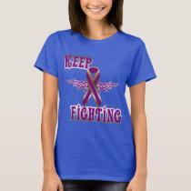 Keep Fighting Pancreatic Cancer Ladies Tee