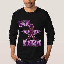 Keep Fighting Pancreatic Cancer Men's Long Sleeve T-Shirt