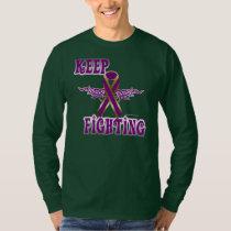 Keep Fighting Pancreatic Cancer Men's Nano Long T-Shirt