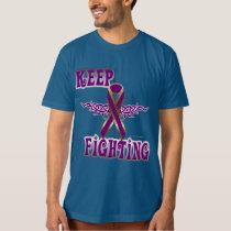 Keep Fighting Pancreatic Cancer Men's Organic Tee