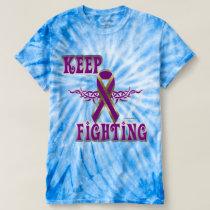 Keep Fighting Pancreatic Cancer Men's Tie-Dye Tee