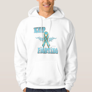 Keep Fighting Prostate Cancer Men's Hoodie
