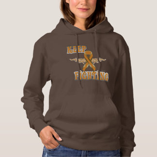 Keep Fighting Self-Harm Ladies Hoodie