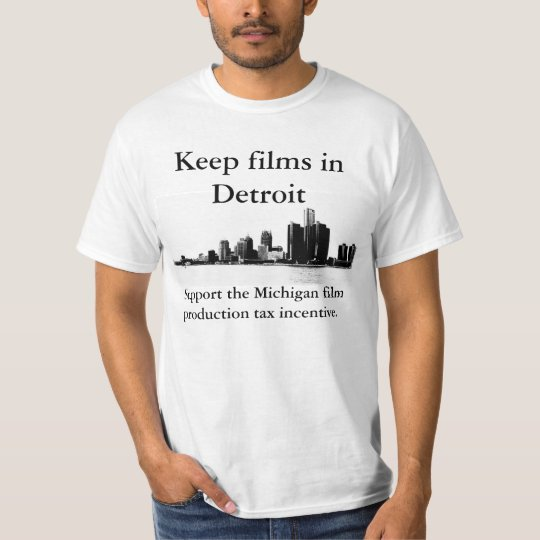 Keep Films in Detroit T-Shirt