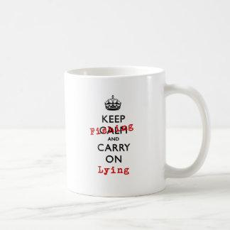 KEEP FISHING COFFEE MUG
