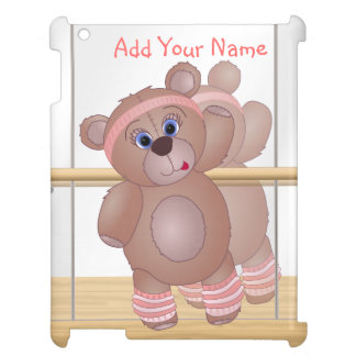 Keep Fit Aerobics Teddy Bear in Girly Pinks Cover For The iPad