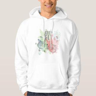 Keep Fit Men's Hooded Sweatshirt