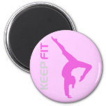 Keep Fit Refrigerator Magnets