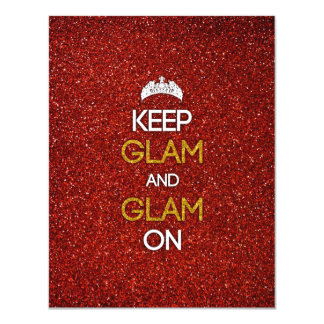 Keep Glam and Glam On Card