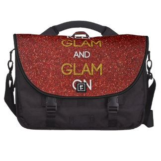 Keep Glam and Glam On Bag For Laptop