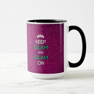 Keep Glam and Glam On Mug