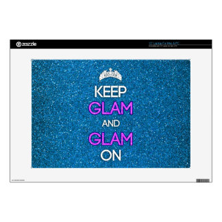 """Keep Glam and Glam On Decals For 15"""" Laptops"""