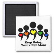 Keep Going - 2x2in Magnet