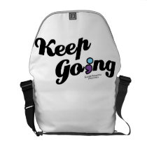 Keep Going Awareness And Suicide Prevention Courier Bag