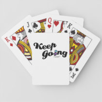 Keep Going Awareness And Suicide Prevention Playing Cards