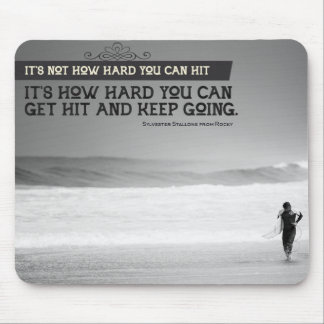 Keep Going Mouse Pad