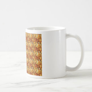 Keep Gold Energy Close : Wired Basket Weave Strand Coffee Mug